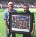 Hearts Legends Print